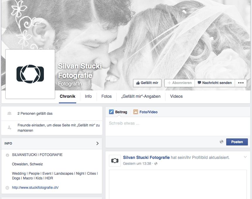 SILVANSTUCKI FOTOGRAFIE auf Facebook